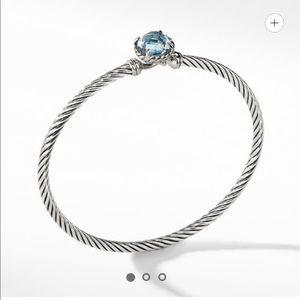 NIB Châtelaine Bracelet with Blue Topaz